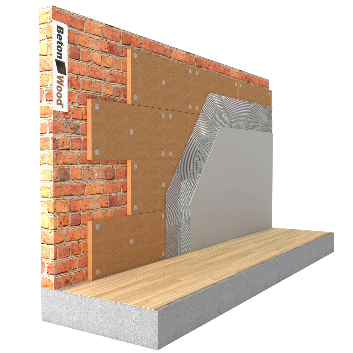 Internal insulation systems with Wood fibre board