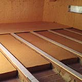 FiberTherm flex flexible wood fibre board under roof