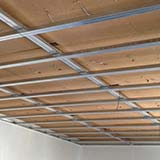 FiberTherm wood fibre board ceiling