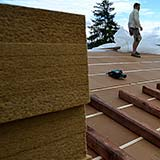 FiberTherm wood fibre board roof density 160